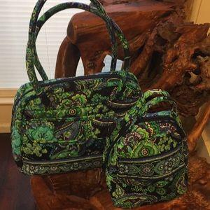 Vera Bradley Blue Rhapsody Bowler bag & lunch bag